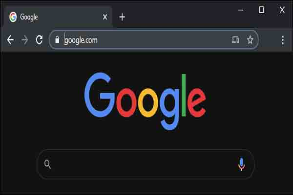 google dark mode